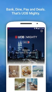 screenshot of UOB Mighty Malaysia version 10.0.3