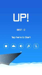 screenshot of UP! Above the Sky version 1.0.5