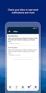 screenshot of United Airlines version 3.0.9