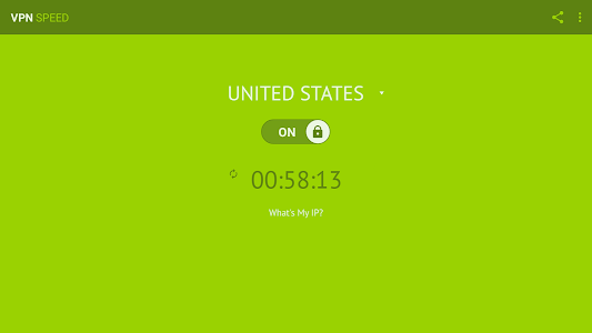 screenshot of VPN Speed (Free & Unlimited) version 1.4