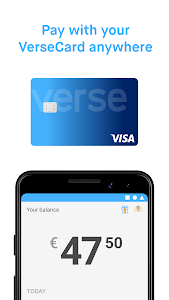 screenshot of Verse - Payments version 7.2.1