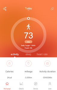 screenshot of VeryFitPro version 3.0.1