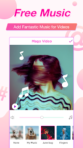 screenshot of Video Star, Video Editor Magic Effects - MagoVideo version 3.5.3
