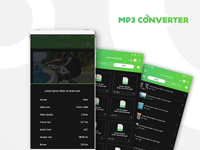 screenshot of Video MP3 Converter - Convert music high quality version 1.1.7