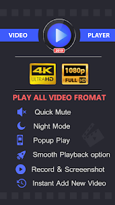 screenshot of Video Player All Format version 1.1