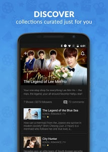 screenshot of Viki: Korean Drama, Movies & Asian TV version 5.0.2