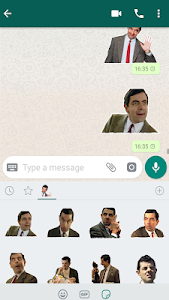 screenshot of WAStickerapps Funny Comedy Stickers version 1.3