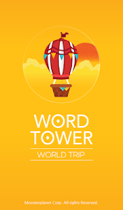 screenshot of WORD TOWER - World Trip version 1.0.3