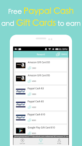 screenshot of Cash Gift - Free Gift Cards version 2.7.3