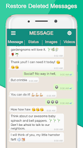screenshot of Whats-Delete PRO: View Deleted Chat & Status Saver version 1.18