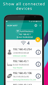 screenshot of Who Use My WiFi? 📱 Network Tool version 6.0.0