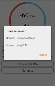 screenshot of WiFi Warden ( WPS Connect ) version 2.0.1.2