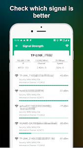 screenshot of WiFi Warden - WiFi Analyzer & WiFi Blocker version 1.0.19