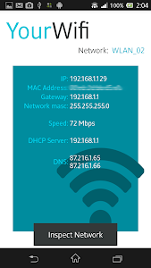 screenshot of Wifi Inspector version 3.9