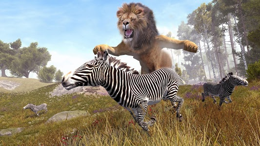 screenshot of Wild Lion Forest Hunt version Varies with device