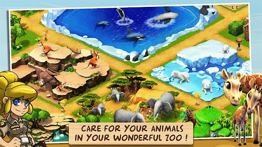 screenshot of Wonder Zoo - Animal rescue ! version 2.0.7b