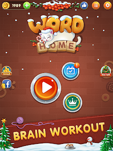 screenshot of Word Home™ - Cat Puzzle Game version 1.2.1