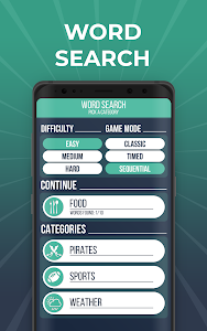 screenshot of Word Search - Definitive Puzzle Challenge version 1.1