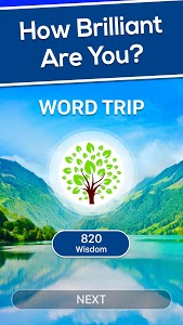 screenshot of Word Trip version Varies with device