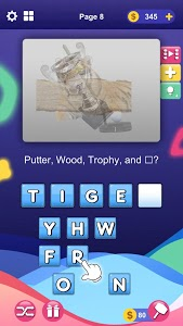 screenshot of Wordly Pics : Guess the hidden pictures version 1.7