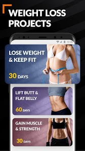 screenshot of Home Workout for Women - Female Fitness version 1.0.9