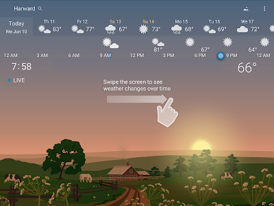 screenshot of Awesome Weather - YoWindow version 2.7.36