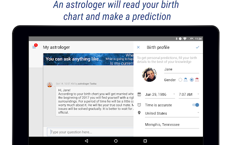 screenshot of Yodha My Astrology & Horoscope version 5.3.8
