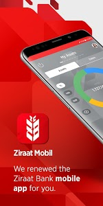 screenshot of Ziraat Mobile version Varies with device