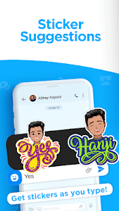 screenshot of Hike Sticker Chat - Fun & Expressive Messaging version 6.2.211