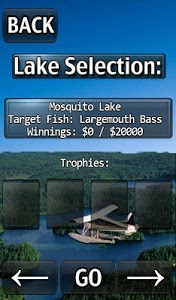 screenshot of i Fishing Lite version 7.5