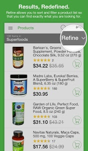 screenshot of iHerb version 5.1.11 R