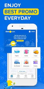 screenshot of tiket.com Book Hotel & Flight version 3.19.0