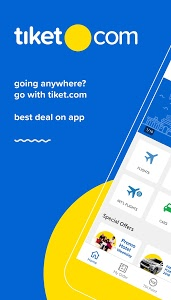 screenshot of tiket.com Book Hotel & Flight version 3.7.2