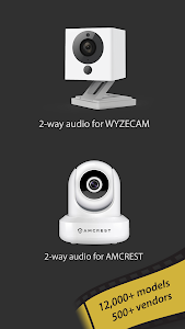 screenshot of tinyCam Monitor FREE - IP camera viewer version Varies with device